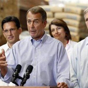 House Minority Leader John Boehner: Yeah, but who broke it? (Reuters)
