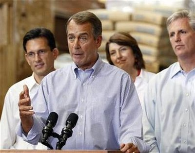 Boehner: House is 'broken'