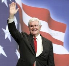 Bombastic Gingrich laughs all the way to the bank