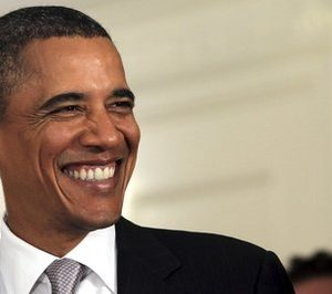 President Barack Obama: Things are looking up (AP)
