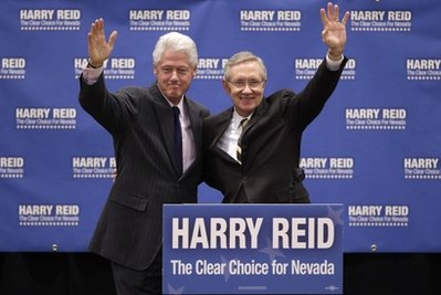 Harry Reid, Bill Clinton