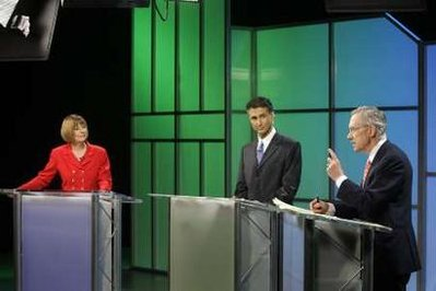 Nevada Senate debate: Many disagreements, no common ground