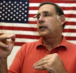 U.S. Rep. John Boozman, Republican candidate for U.S. Senate in Arkansas, speaks to supporters in Hot Springs, Ark., Wednesday, Oct. 20, 2010. (AP Photo/Danny Johnston)