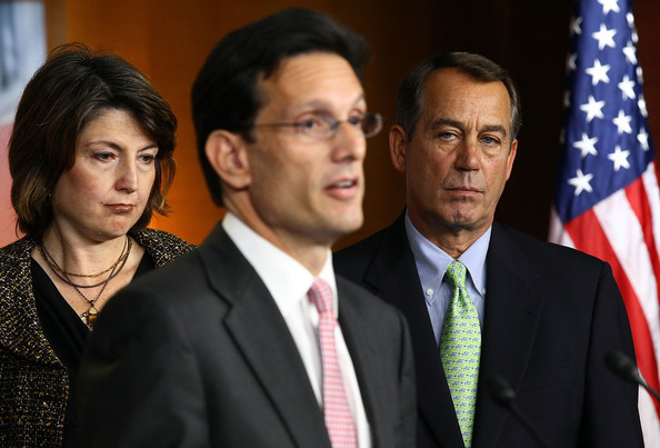 Right-wing extremist Cantor claims tea party is not extreme
