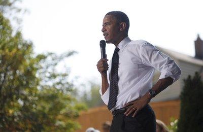 Obama promotes health care reform, but is anyone listening? (AP Photo/Pablo Martinez Monsivais)