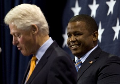 Bill Clinton, Kendrick Meek