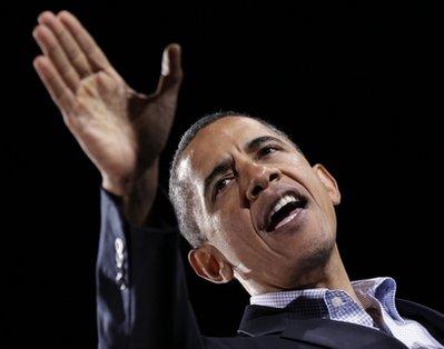 Obama on the stump  (AP Photo/J. Scott Applewhite)