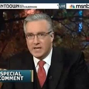 Toublemaking anchor Keith Olbermann