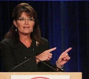 Sarah Palin pontificates
