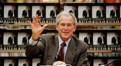 Unapologetic Bush tries to rewrite history