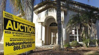 Foreclosures drop 9 percent in October