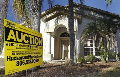 Foreclosures drop 9 percent in October