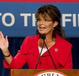 Former Alaska governor Sarah Palin (REUTERS/Scott Audette)