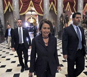 Outgoing Speaker Nancy Pelosi (AP Photo/Alex Brandon)