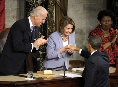 Pelosi's mission: Sabotage Obama deals with GOP
