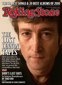 Rolling Stone publishes Lennon's final interview