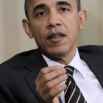 President Barack Obama makes a statement regarding the ongoing tax deal negotiation with Congress, during his meeting with Polish President Bronislaw Komorowski, in Oval Office of the White House in Washington, Wednesday, Dec., 8, 2010. (AP Photo/Pablo Martinez Monsivais)