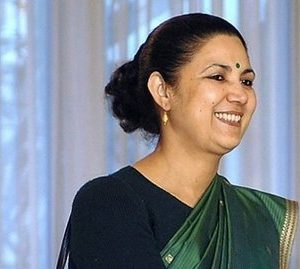 Meera Shankar. Ambassador to India (AFP)