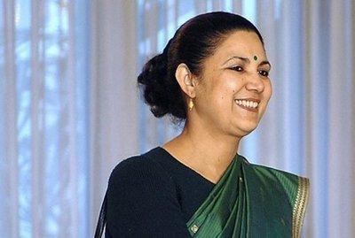 Meera Shankar. Ambassador to India (AFP)