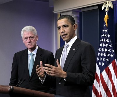 Can Bill Clinton save Obama's Presidency?