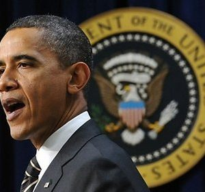 Obama: Rejected by his own (AFP)