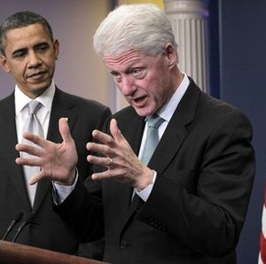 President Obama and Bill Clinton: When things look bad, bring in the big guns (AP Photo/J. Scott Applewhite)