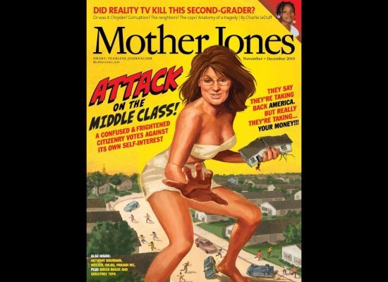 Palin in the butt…or on magazine covers anyway