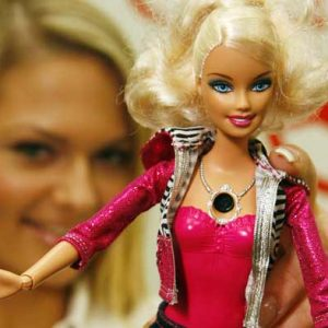 Barbie and her boob cam