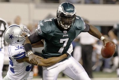 Cowboys almost upset Vick, Eagles