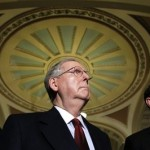 Senate Minority Leader Mitch McConnell of Kentucky: Wait, it wasn't supposed to happen this way (AP)