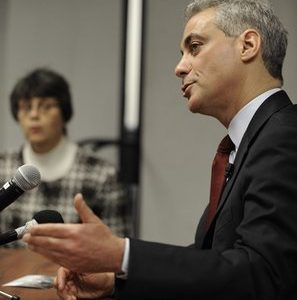Former White House Chief of Staff Rahm Emanuel: Maybe he was born in Indonesia? (AP)