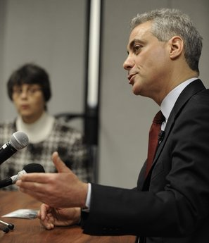 Question for Rahm: Are you really a resdident from the Windy City?