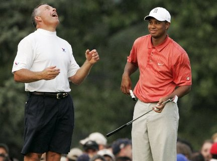 Face it: This wasn't a good year to be Tiger Woods…or his caddie