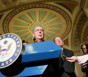 House Minority Leader Mitch McConnell (AFP)