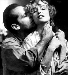 Jack Nicholson and Jessica Lange in 'The Postman Always Rings Twice.' Guess it didn't work in Wisconsin