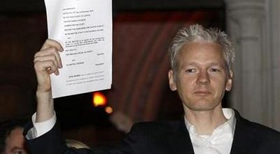 WikiLeaks founder shows no remorse while on bail