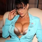 Sarah Palin: Like her statements, her cleavage is overblown