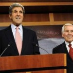 Senators John Kerry and Richard Lugar (Reuters)