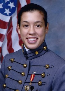 "This photo provided by Katherine Miller on Thursday, Aug. 12, 2010 shows her in uniform at the U.S. Military Academy. On Wednesday, Dec. 22, 2010, President Barack Obama signed the bill clearing way for repeal of the 17-year-old ""don't ask, don't tell"" policy. Miller, 21, from Findlay, Ohio, wasn't discharged, but she said ""don't ask, don't tell"" was the reason she left the academy despite impressive achievements there. (AP Photo)"
