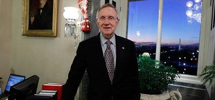 Senate majority leader Harry Reid: Even he came out looking good (AP)