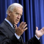 Vice President Joe Biden gestures while speaking at the South Court Auditorium at the White House in Washington. Biden said Friday, Dec. 24, 2010 that the country is evolving on the issue of gay marriage and he thinks it's inevitable there will be national consensus. (AP Photo/Susan Walsh, File)