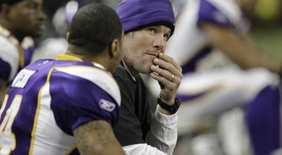 Disgraced Favre will go out with a quiet, scandalous whimper