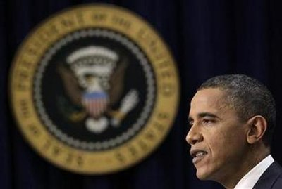 President Obama speaks during his news conference at the White House