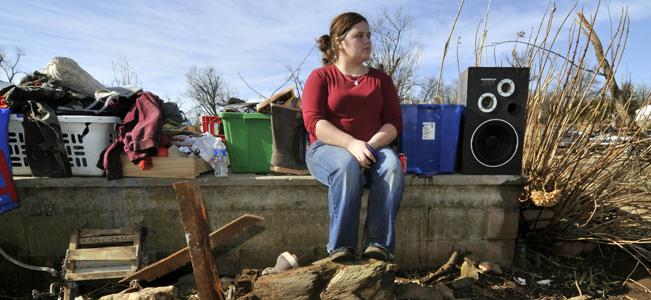 Warm-air fueled tornadoes kill six, injure dozens
