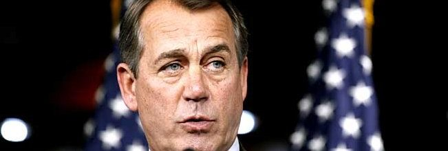 Boehner to Obama: We're in charge now