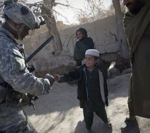 Soldiers in Afghnistan (AFP)