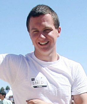 This March 2010 photo shows a man identified as Jared L. Loughner at the 2010 Tucson Festival of Books in Tucson, Ariz. The Arizona Daily Star, a festival sponsor, confirmed from their records that the subject's address matches one under investigation by police after a shooting in Tucson that left U.S. Rep. Gabrielle Giffords wounded and at least five others dead. Police say a suspect is in custody, and he was identified by people familiar with the investigation as Jared Loughner, 22, of Tucson.    (AP Photo/Arizona Daily Star, Mamta Popat)