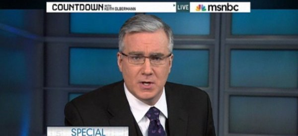 Olbermann: Violence has no place in a Democracy