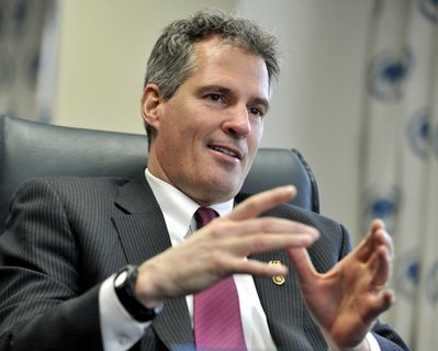 Scott Brown looks back over first year in Senate