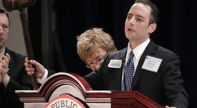Steele out; Priebus in at RNC